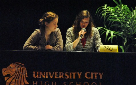 Biology students compete in Biotechnology Debates