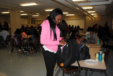 Heavy backpacks weigh on students