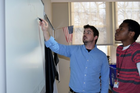 Student teacher strives for success
