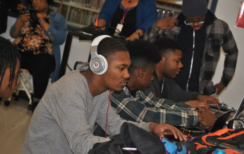 Audio production class takes  root in library