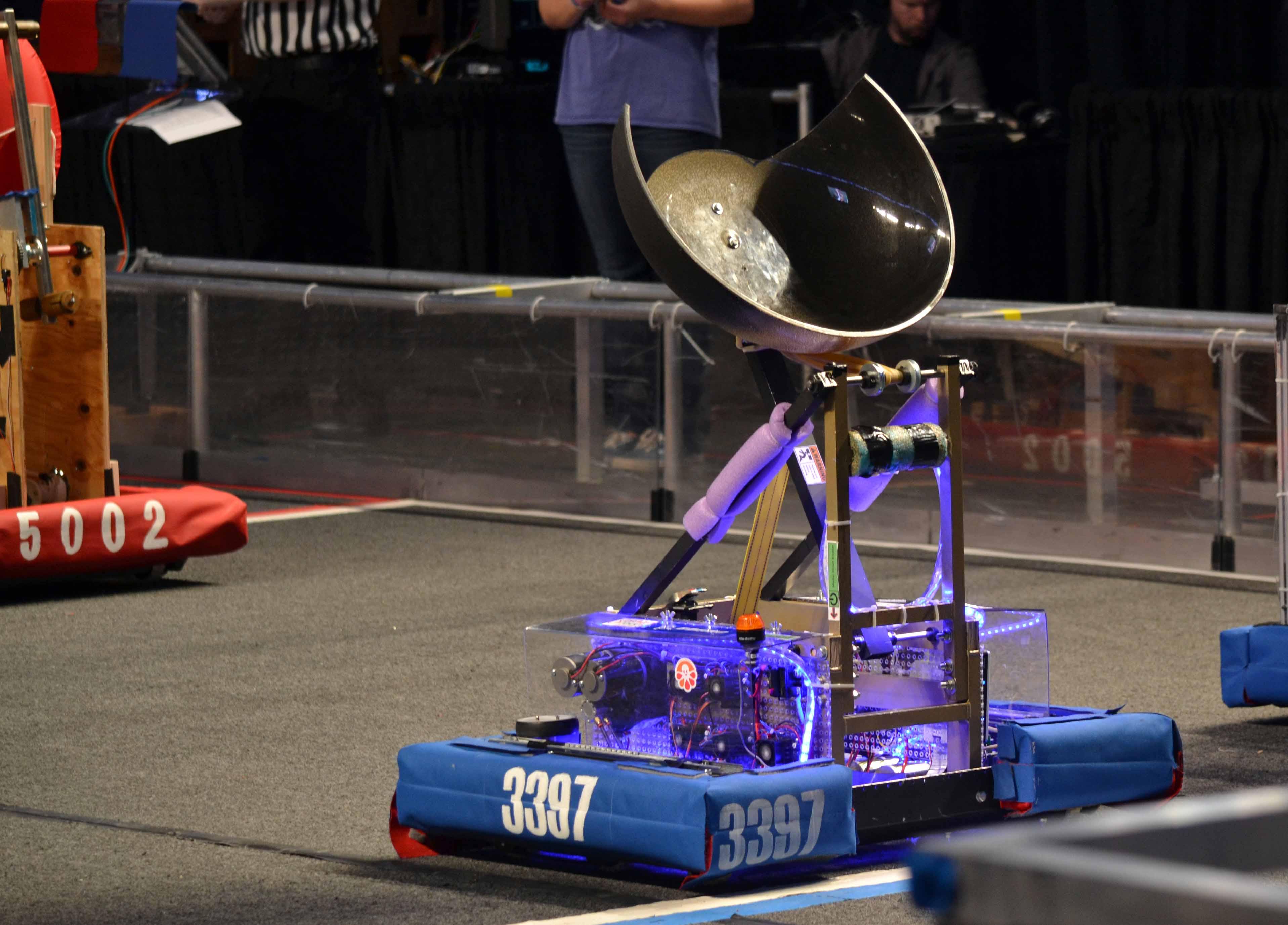 Ulysses, the Robolions' robot.