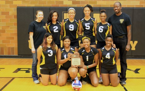 Girls Volleyball Wins Districts