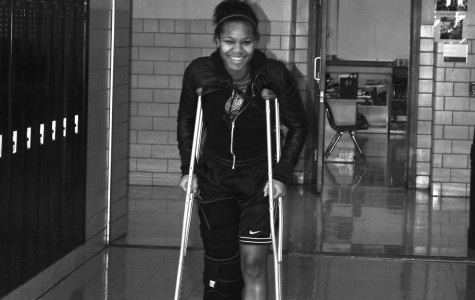 """After practicing and training for field hockey all summer, sophomore Deandria Walker was sidelined with a torn ACL and meniscus. She sat on the bench for the entire season and helped manage the team.""""When I first learned I was going to be out the whole season I was devastated,"""" says Walker.""""I never played but I look forward to next season."""""""