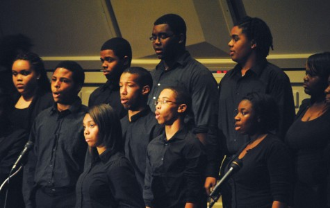 Choir and band take center stage at winter concert