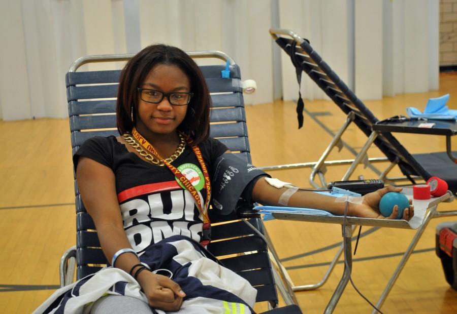 JROTC Sponsors School-wide Blood Drive
