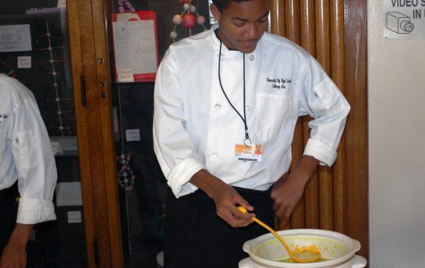 Students Sample Soup Kitchen Dining