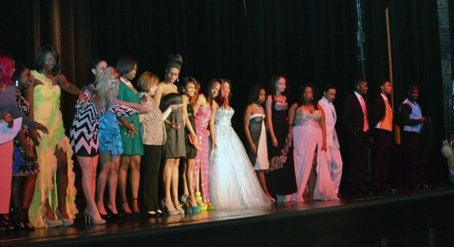 FCCLA Hosts Prom Fashion Show