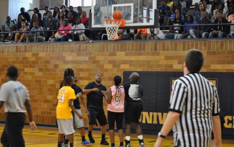Students Emerge Victorious in Staff/Student Basketball Game
