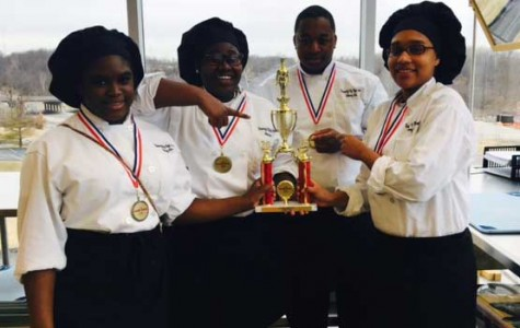 Students win culinary competition