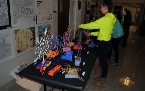 Arts Night displays student work
