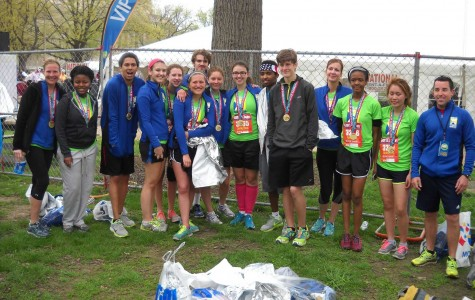 Students on the Go! complete half marathon