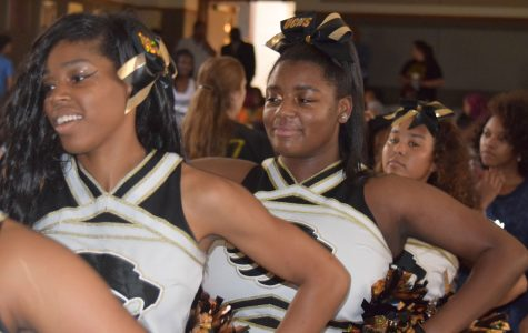 Students explode with spirit at surprise pep assembly