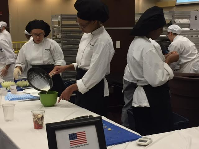 U. City takes first place in culinary arts competition