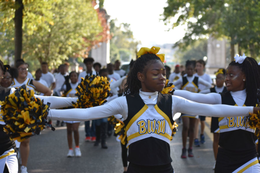 Competition fierce at Homecoming parade