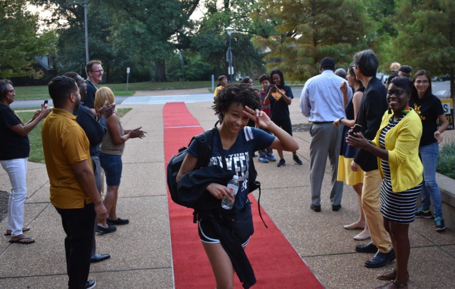 Students greeted at start of 2018-19 school year