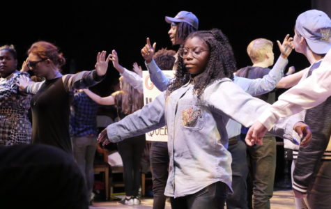 Students raise awareness in 'The Laramie Project'
