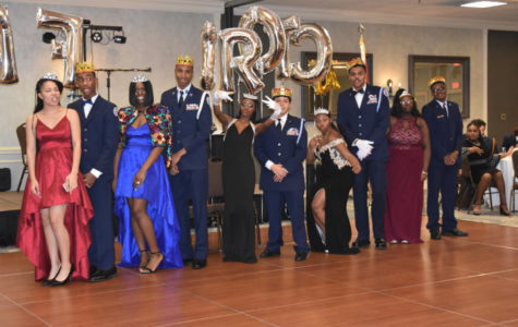 JROTC students enjoy themselves at annual military ball