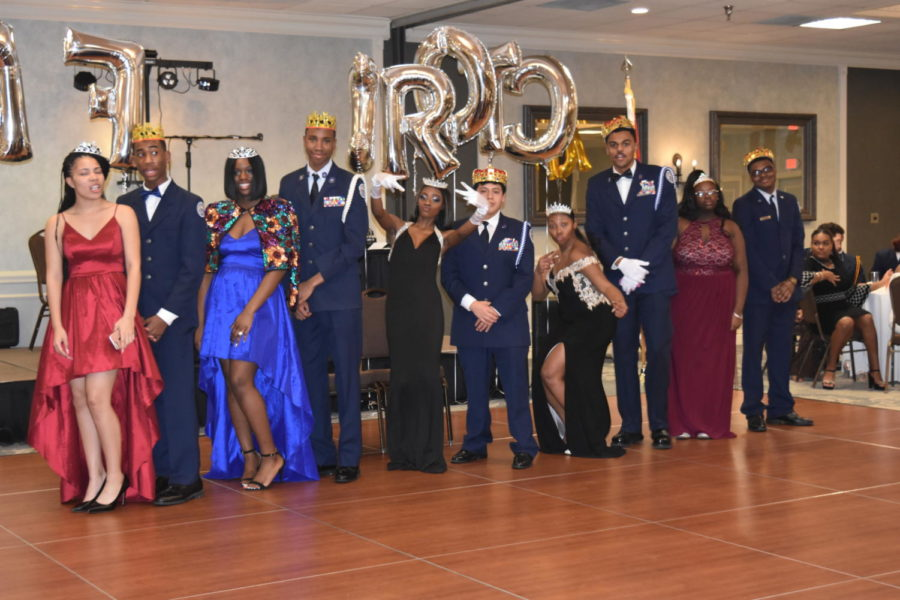 JROTC+students+enjoy+themselves+at+annual+military+ball