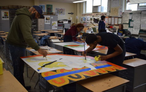 Local artist leads mural art project