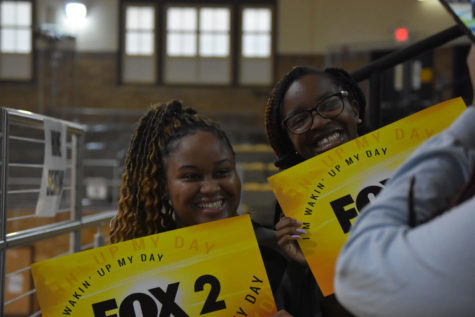 Fox 2 News' Pep Rally comes to UCHS