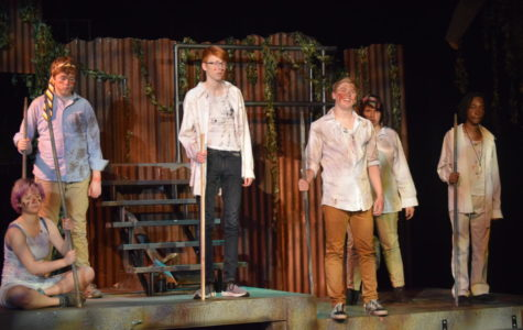 'Lord of The Flies' dispenses plenty of violence, insults