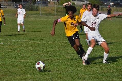 Corn receives soccer honors at state, region, conference levels