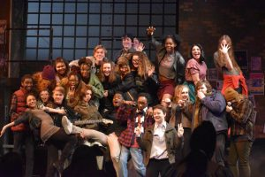 Cast of RENT sits down post-performance