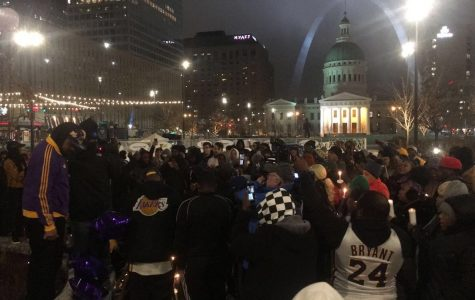 St. Louis mourns death of NBA great Kobe Bryant with vigil