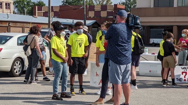 "After garnering hundreds of peaceful protesters, the local media caught wind of the work that U. City students put in. ""We were interviewed by a lot of news outlets,"" said Khloe Fox, junior. ""There's a lot of articles online that captured the moment, we got so much exposure."""