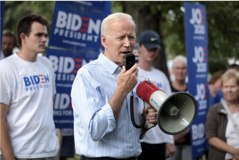 Joe Biden on the campaign trail in 2020