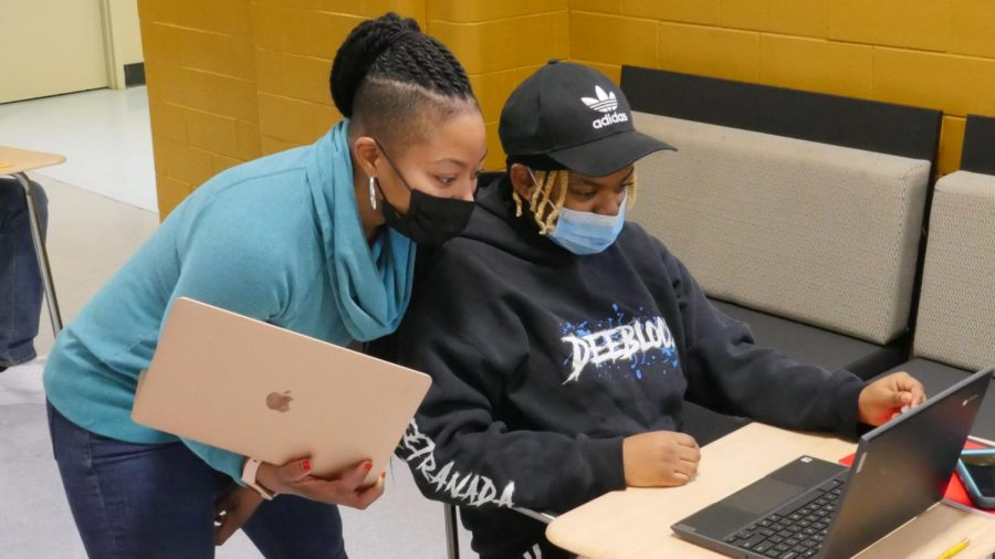 Students return to school in distance learning hubs
