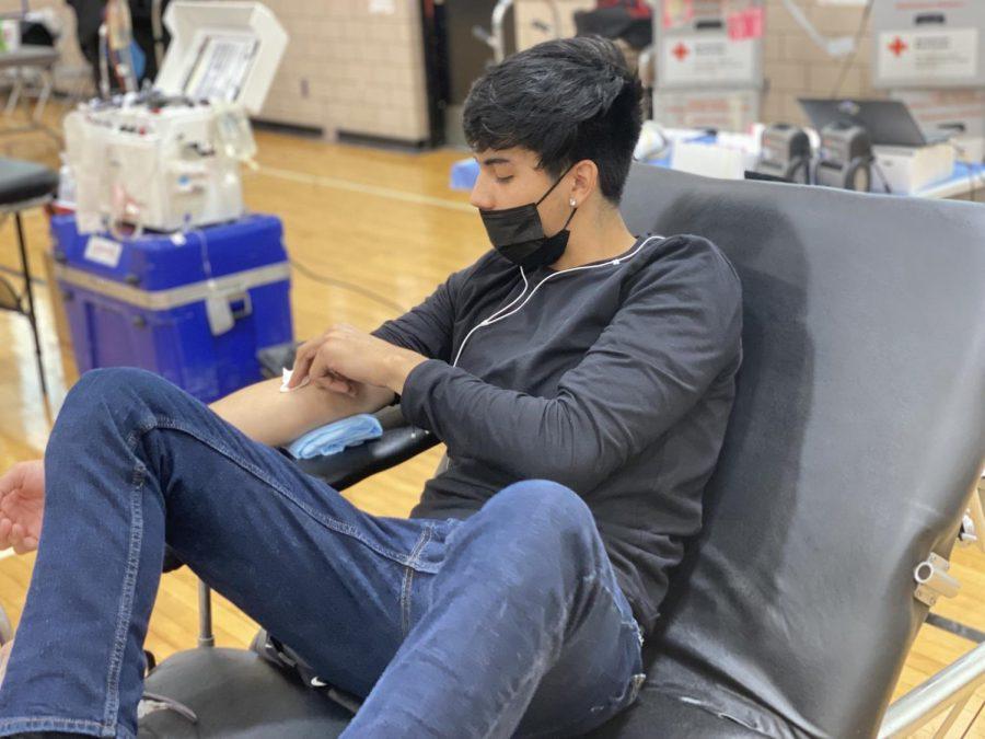 JROTC blood drive meets goal